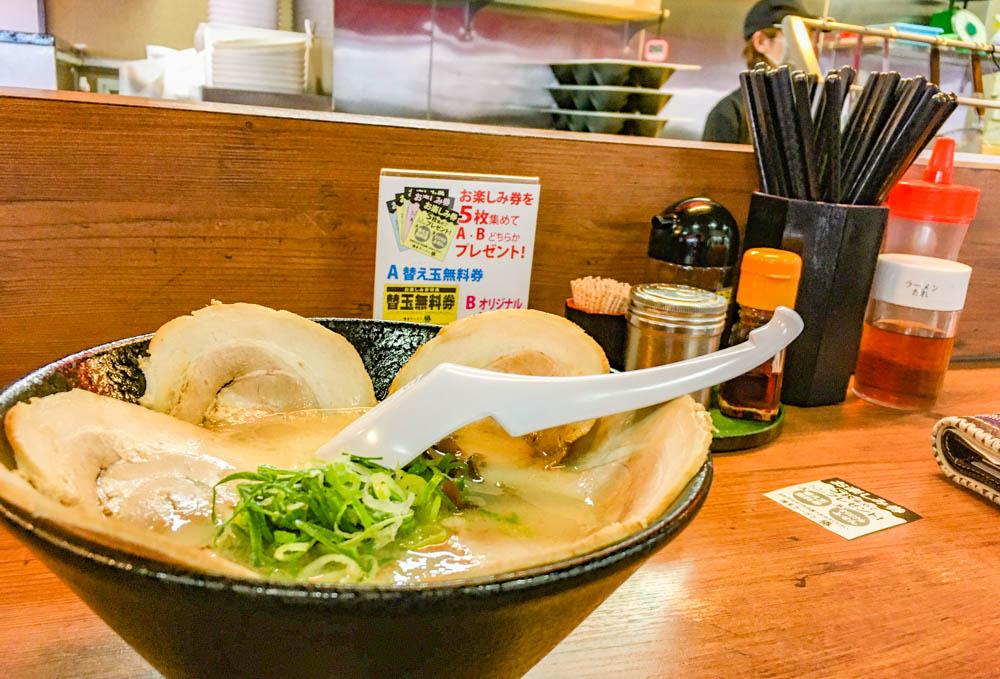 【西方江】一杯290円から!「博多ラーメン 勝」グルメレポート