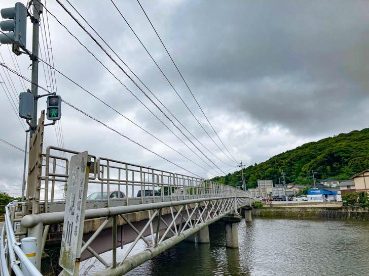 室見川と大井手橋