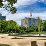 【中央区天神北】天神のオアシス「須崎公園」。人混みに疲れた時にオススメ