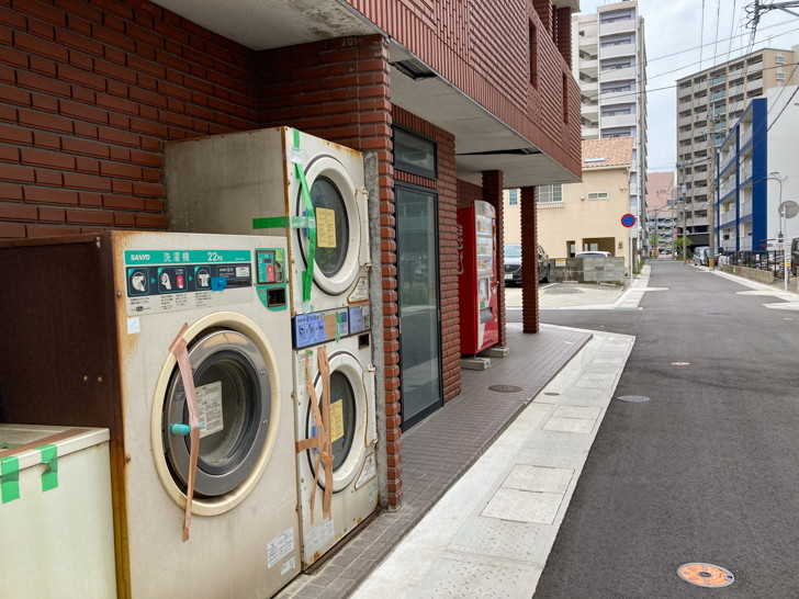 味わい深い洗濯機