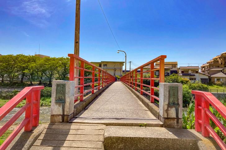 的場橋 こじんまりとした橋