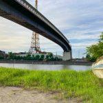 【大牟田市西新町】大牟田港そばの橋の下