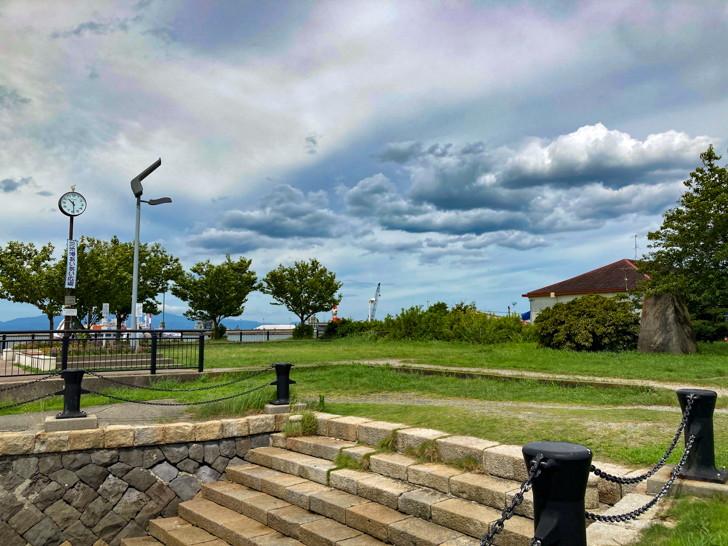 【大牟田】「三池港(フェリーターミナル)」と「あいあい広場」を散策してきた 三池港あいあい広場