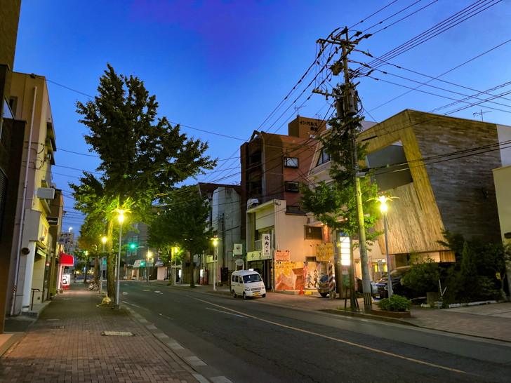 【長住4丁目】団地と、商店が立ち並ぶ落ち着いた通り【散歩レポート】 住宅街から抜けた