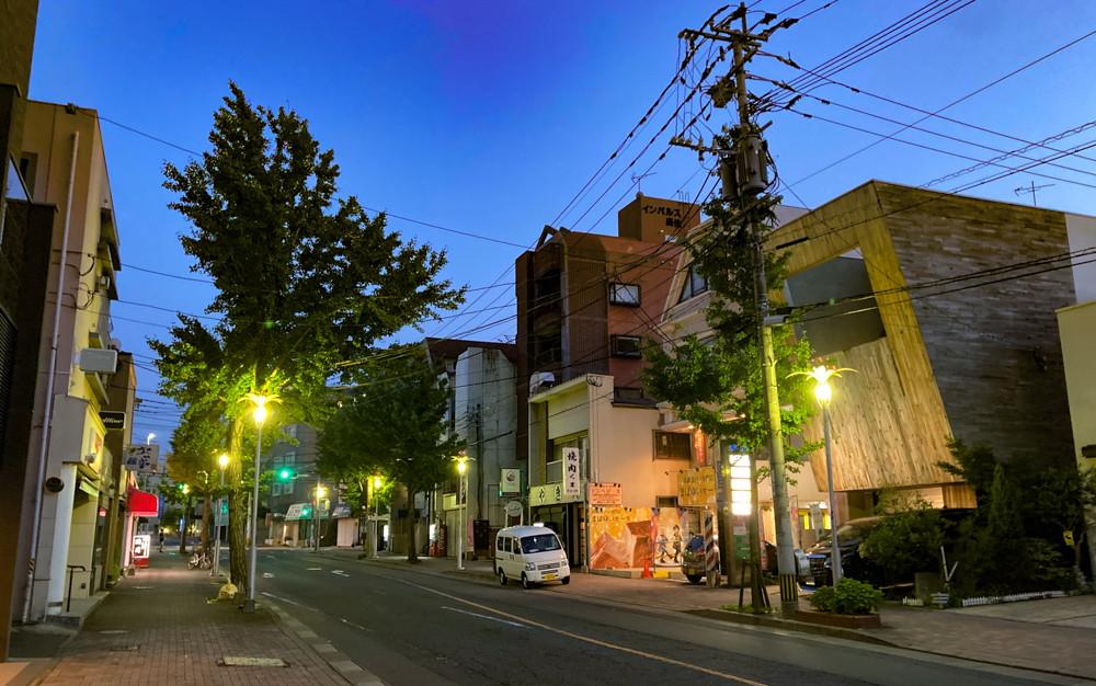 【長住4丁目】団地と、商店が立ち並ぶ落ち着いた通り【散歩レポート】